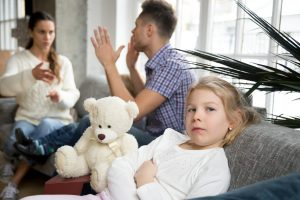 parents in toxic relations affect children