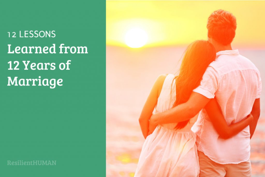 12 lessons in marriage